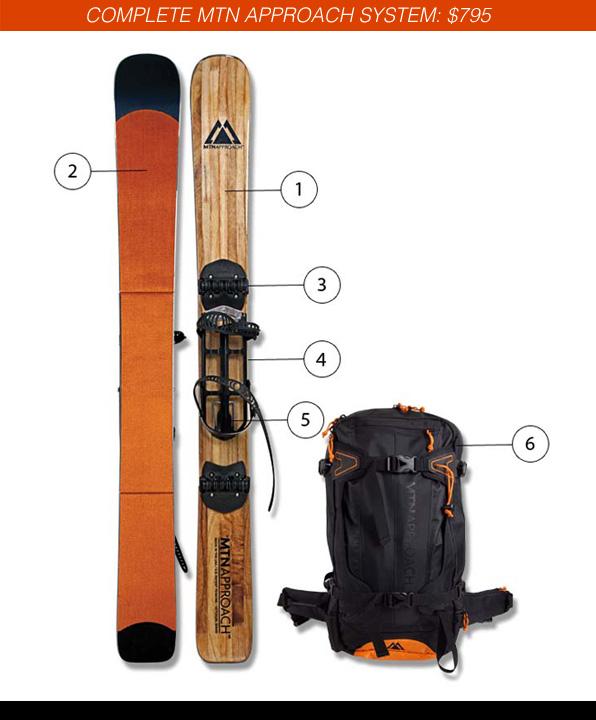 MTNApproach Backcountry Skis