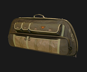 'PassThrough' BowCase, -OLIVE Green